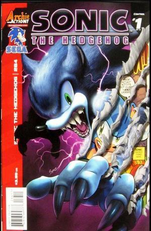 Sonic The Hedgehog No 264 Regular Cover Patrick Spaziante Archie Comics Back Issues G Mart Comics