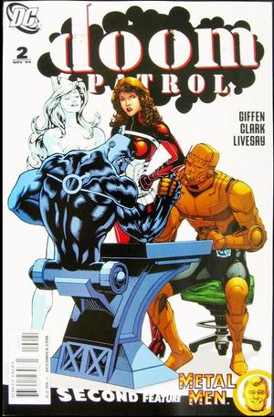 Doom Patrol Series 5 2 Variant Cover Matthew Clark Kevin