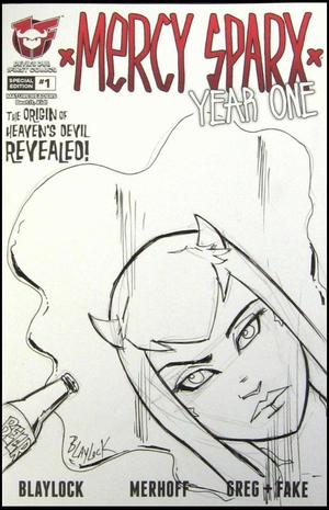 Mercy Sparx Year One 1 Retailer Incentive Sketch Cover Josh Blaylock Devil S Due 1first Comics Back Issues G Mart Comics Not just create them #1(of 4) (dec052950) hits comic. g mart comics
