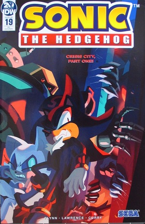 Sonic The Hedgehog Series 2 19 Retailer Incentive Cover Nathalie Fourdraine Idw Publishing Back Issues G Mart Comics